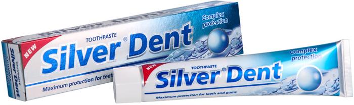 Modum Зубная паста Комплексная защита Silver Dent, 100 г
