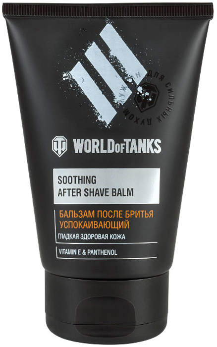 Modum Бальзам после бритья Успокаивающий World of Tanks, 100 гB108-201Бальзам успокаивает кожу, а также снимает раздражение после бритья.Бисаболол и Бетаин успокаивают раздражённую кожу, уменьшают имеющиеся покраснения, шелушения.Витамины А и Е участвуют в регуляции синтеза белков, обеспечивая блеск, гладкость и эластичность кожи.Витамин F поддерживает целостность липидного барьера, предотвращает трансэпидермальную потерю влаги.Экстракт женьшеня выполняет функцию тонизирования и питания кожи.