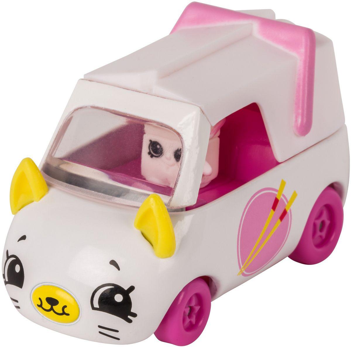 Moose Игровой набор Cutie Cars с мини-фигуркой Shopkins S1 56590/ast56742 игровые наборы shopkins игровой набор веселая кухня