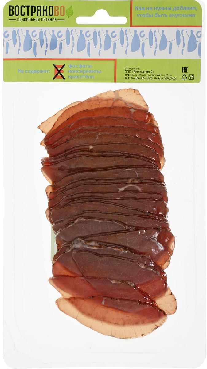 Востряково Говядина По-Каталонски, сырокопченая, 150 г колбаса брауншвейгская сырокопченая 1кг черкизовский мк