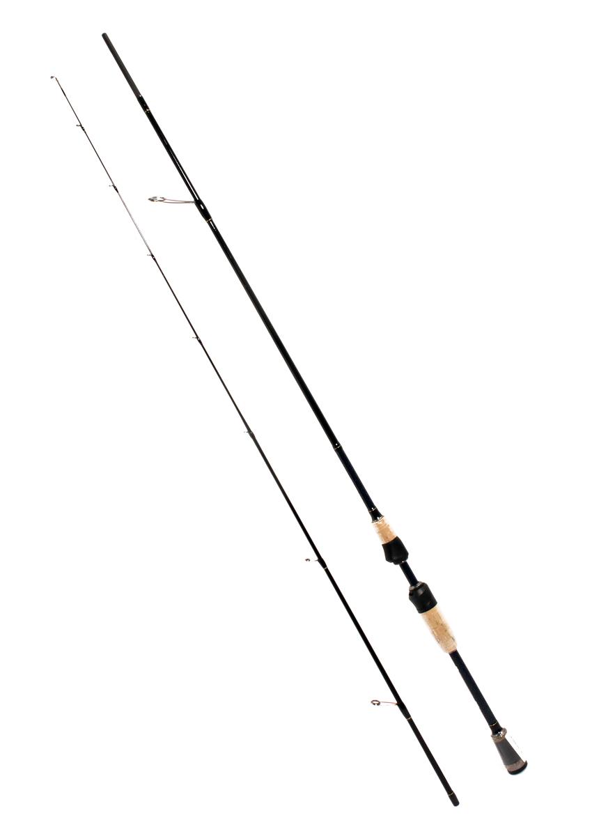 Спиннинг штекерный Daiwa Silver Cr. L. Spin, 2,2 м, 5-21 г0066100Новые спиннинги Silver Creek Light дополняют популярную серию Silver Creek UL четырьмя моделями, отличающимися более мощной вклеенной вершинкой. Эта серия спиннингов по доступной цене будет интересна как для начинающего рыболова, так и опытного спиннингиста!Спиннинги идеальны для ловли на мягкие приманки длиной 5-10 см и маленькие воблеры до 10 см длиной. Особенности:бланк из высокомодульного углепластика премиум класса солидовая вершинка из графитового материала кольца покрытые нитритом титана скелетный катушкодержатель.