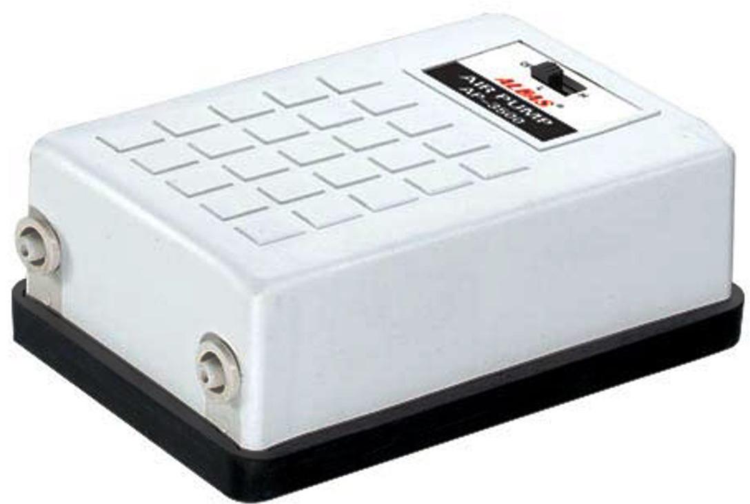 Компрессор двухканальный Aleas, 2 х 2 л/мин