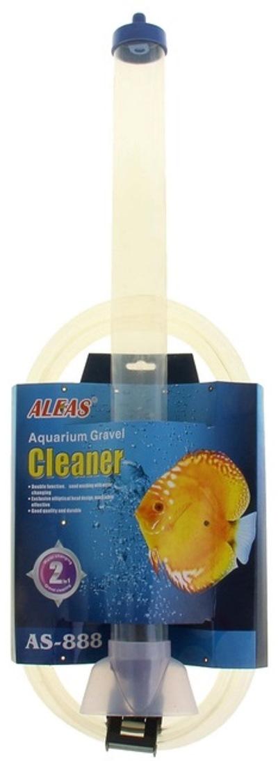 """Очиститель грунта """"Aleas"""", в наполненном аквариуме, с функцией самостарта, высота колбы 60 см"""