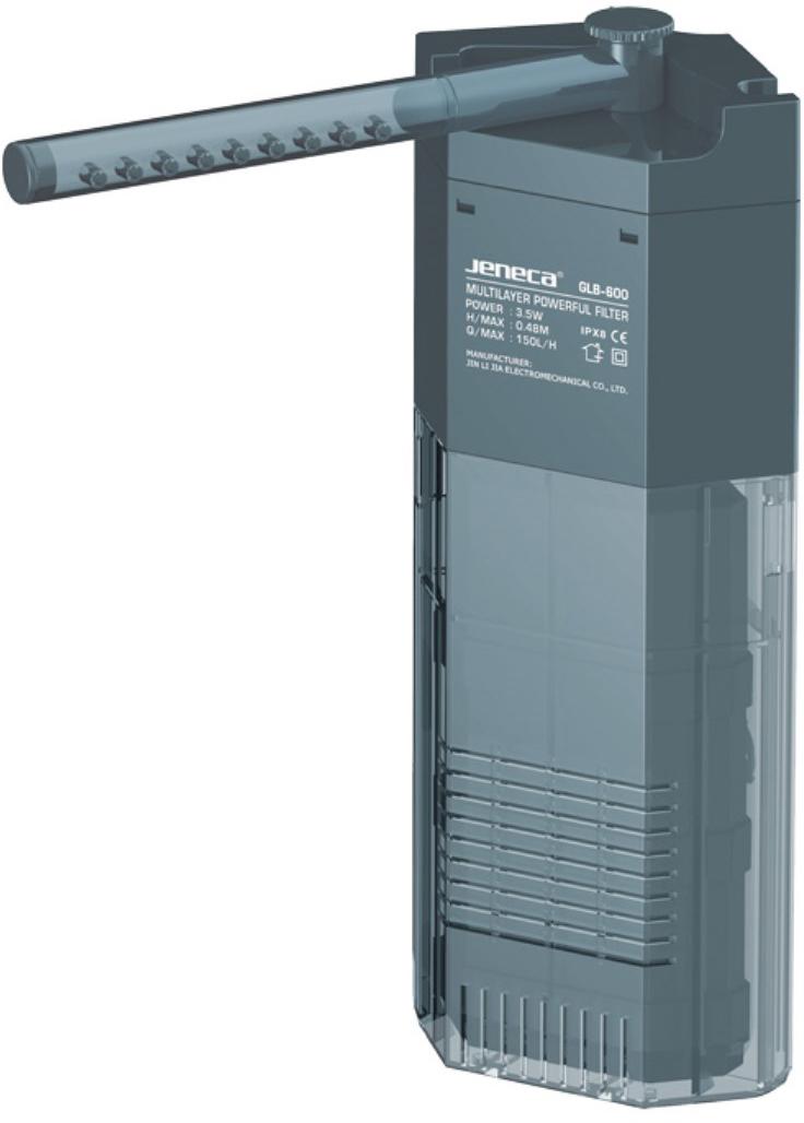 Фильтр внутренний Aleas, угловой, с флейтой, 150 л/ч