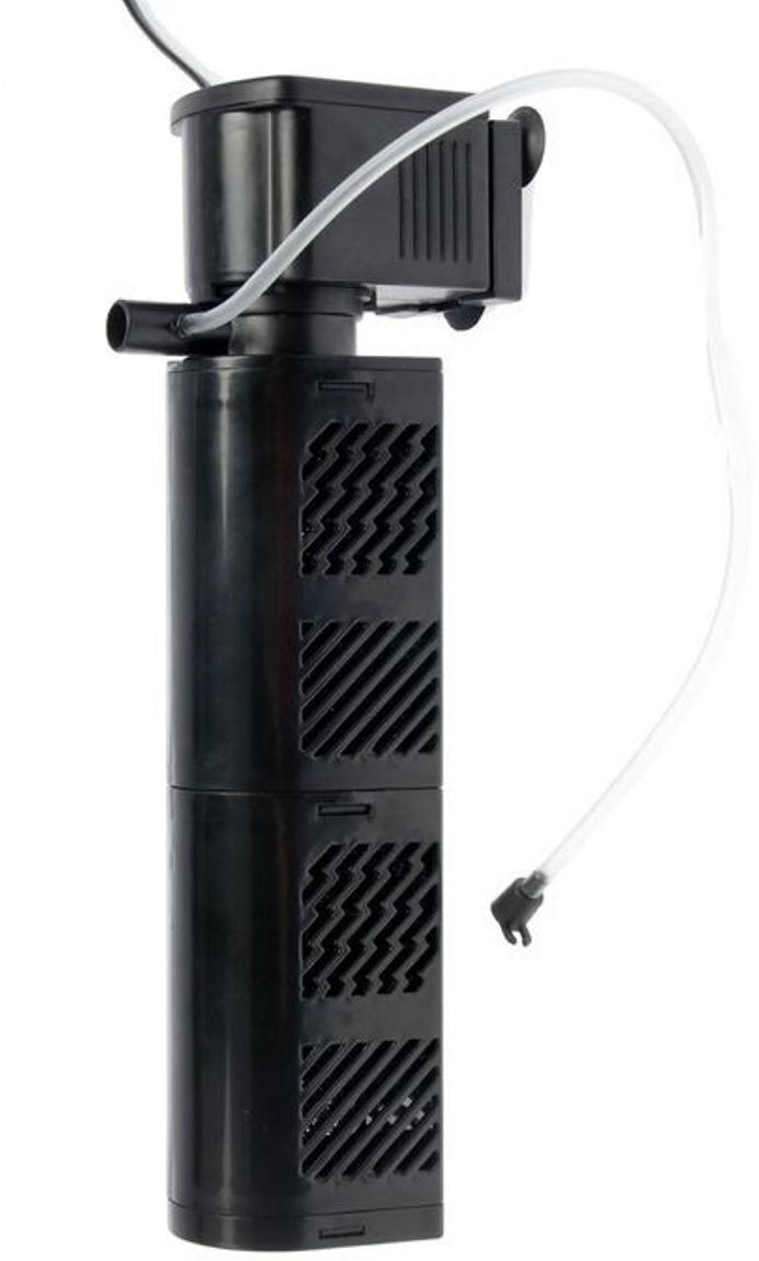 Фильтр внутренний Aleas, с повышенной очисткой, с 2 катриджами, 1500 л/ч фильтр водяной barbus внутренний 2 камерный 880 л ч 12 вт