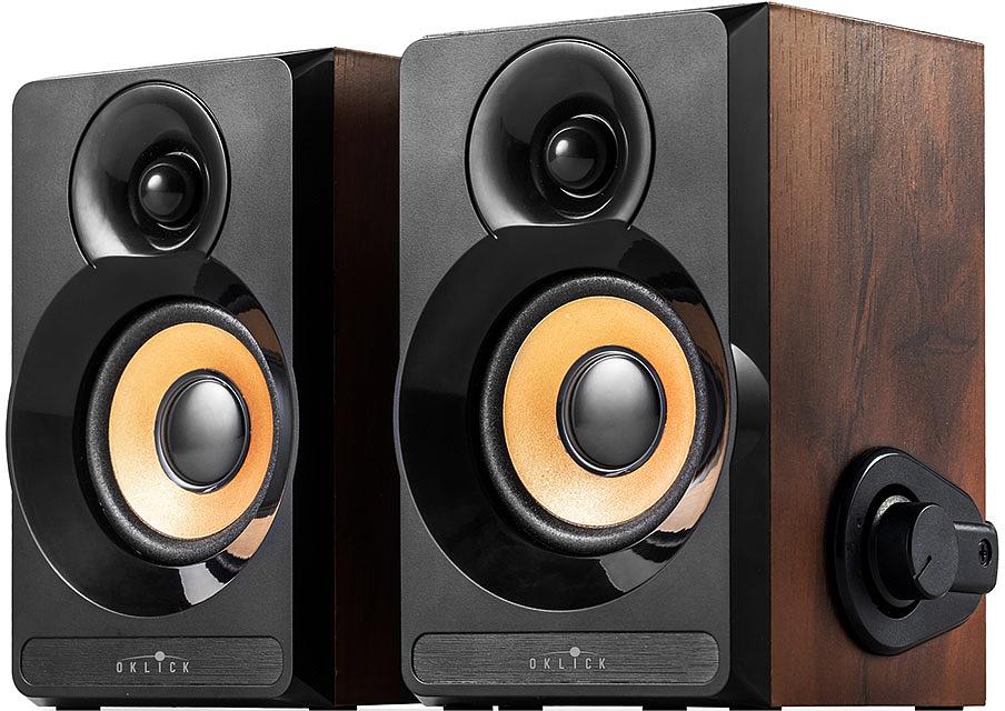 Oklick OK-161, Dark Wood акустическая система цена