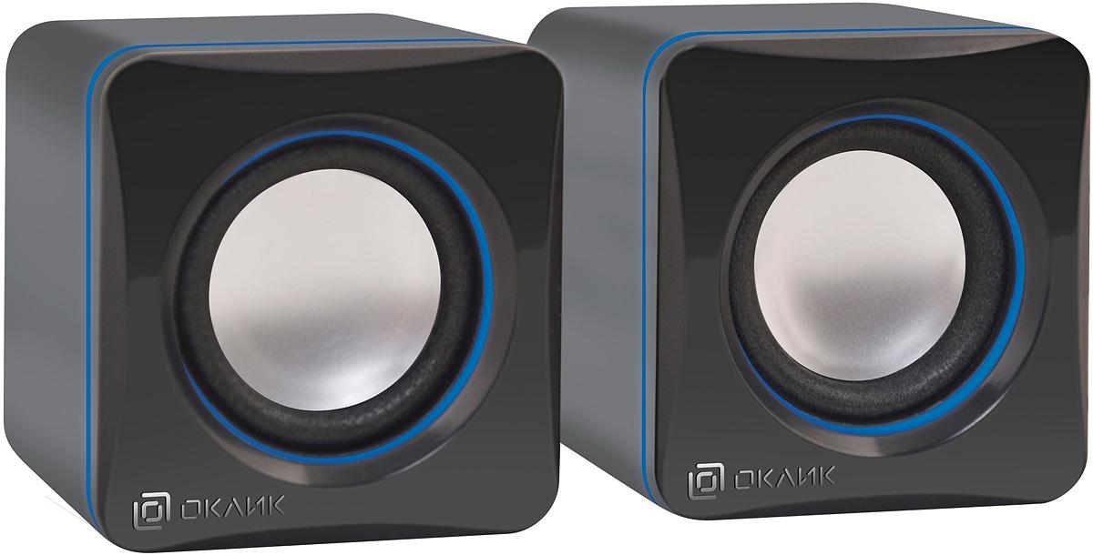 все цены на Oklick OK-330, Black акустическая система