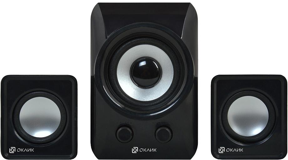 Oklick OK-420, Black акустическая система колонки fusion fbs 420