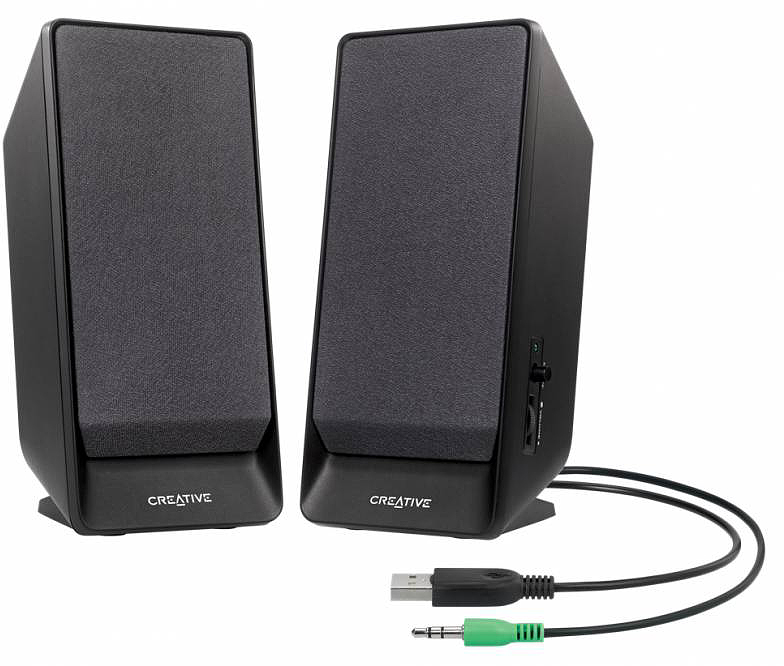 Creative SBS A50, Black портативная акустическая система creative nuno micro black портативная акустическая система 51mf8265aa000