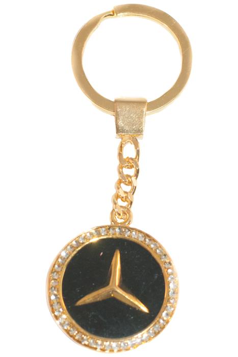 Брелок YusliQ, цвет: золотой. b1804МеталлОригинальный дизайнерский брелок YusliQ выполнен из оцинкованного металла и оформлен стразами.Такой брелок - отличный подарок для ценителей необычных украшений!