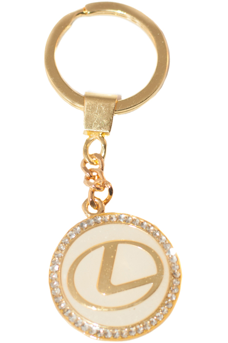 Брелок YusliQ, цвет: золотой. b1808МеталлОригинальный дизайнерский брелок YusliQ выполнен из оцинкованного металла и оформлен стразами.Такой брелок - отличный подарок для ценителей необычных украшений!