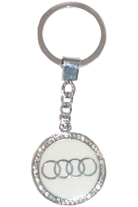 Брелок YusliQ, цвет: серебристый. b1809МеталлОригинальный дизайнерский брелок YusliQ выполнен из оцинкованного металла и оформлен стразами.Такой брелок - отличный подарок для ценителей необычных украшений!