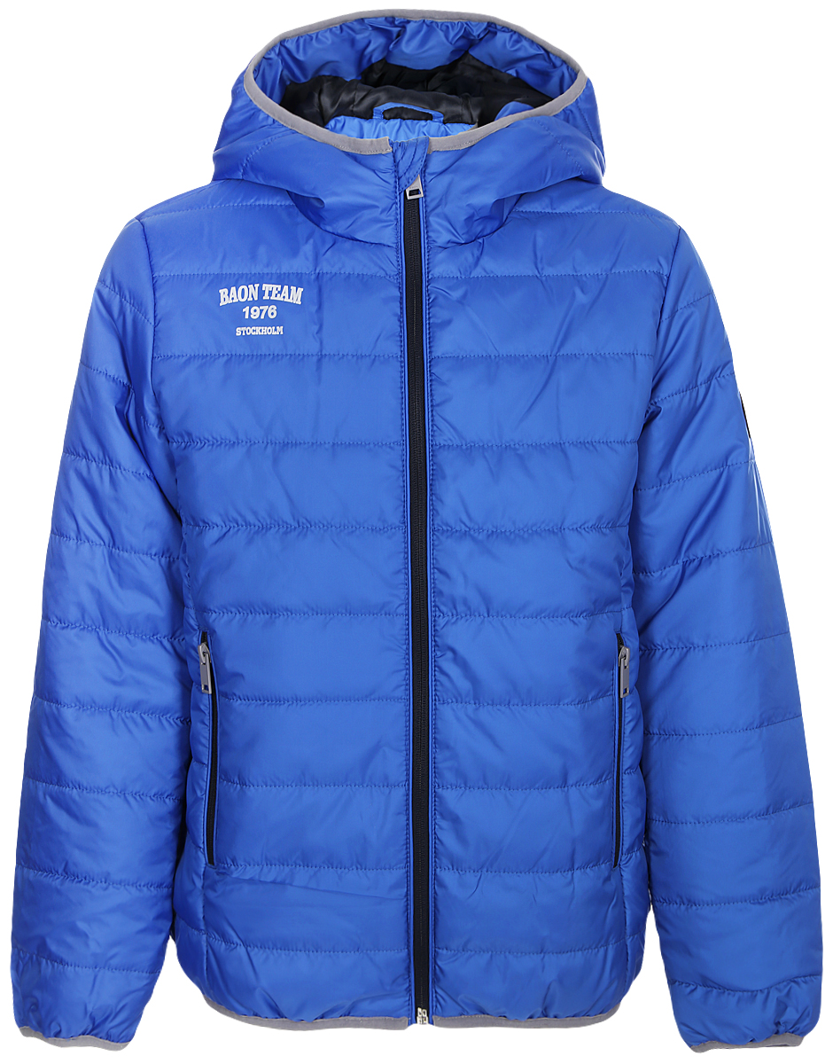 Куртка для мальчика Baon, цвет: синий. BJ538001_Larkspur. Размер 158/164 куртка утепленная baon baon ba007emwbf47