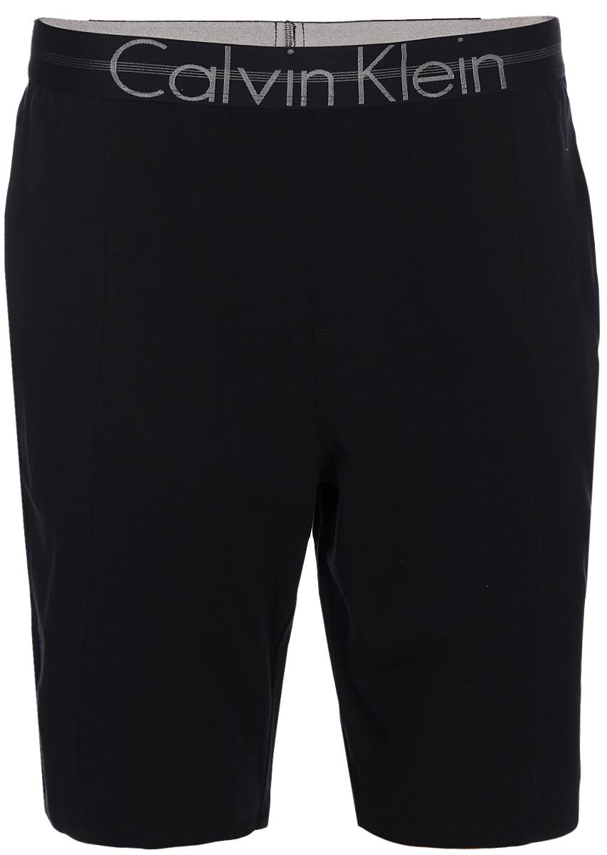 Шорты для дома мужские Calvin Klein Underwear, цвет: черный. NM1503E_001. Размер XL (54) оправа для очков calvin klein calvinklein ck5846a