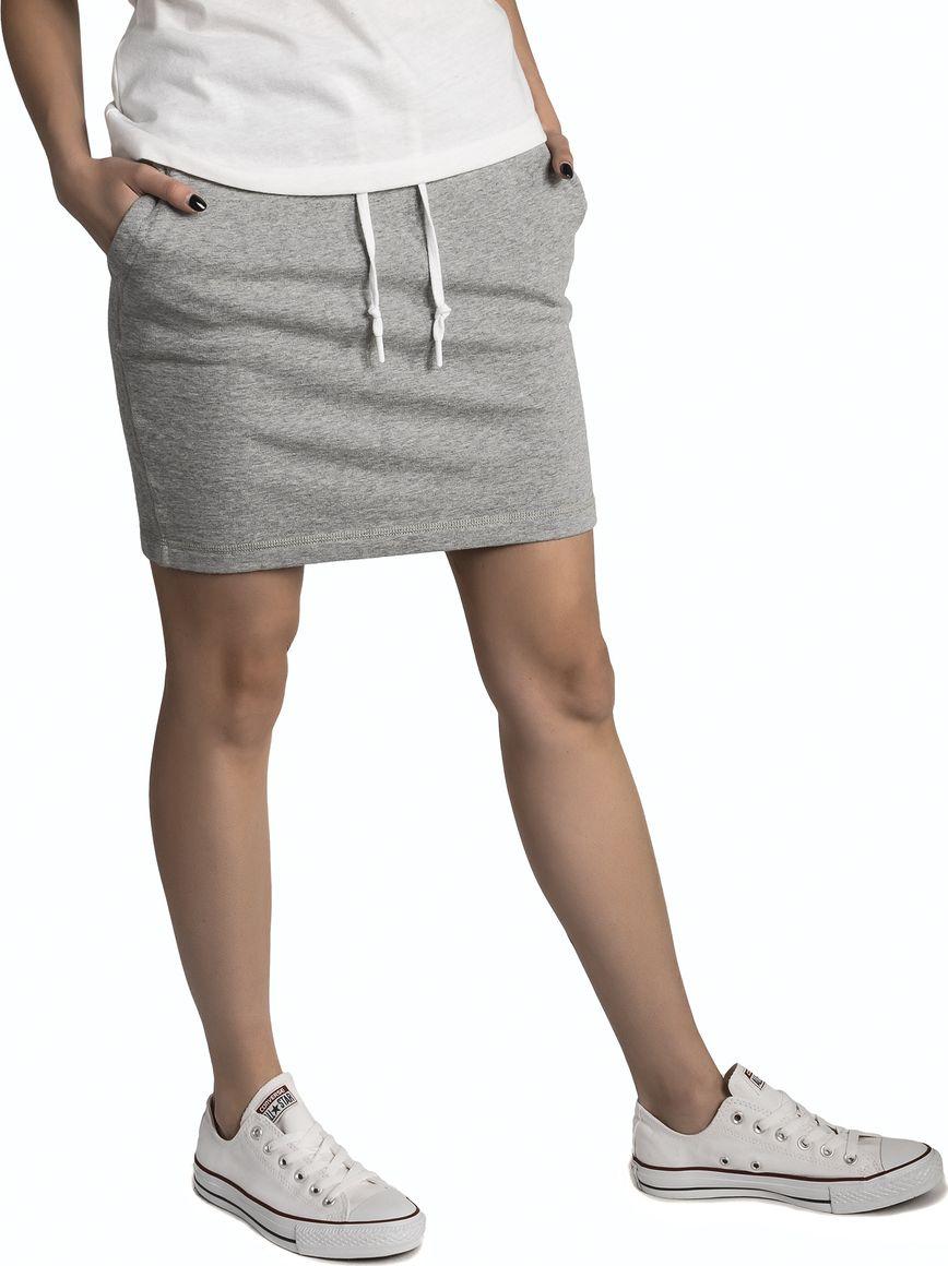 Юбка Converse Core Skirt, цвет: серый. 10005671035. Размер XS (42) юбка converse star chevon track skirt цвет синий 10005759426 размер xs 42