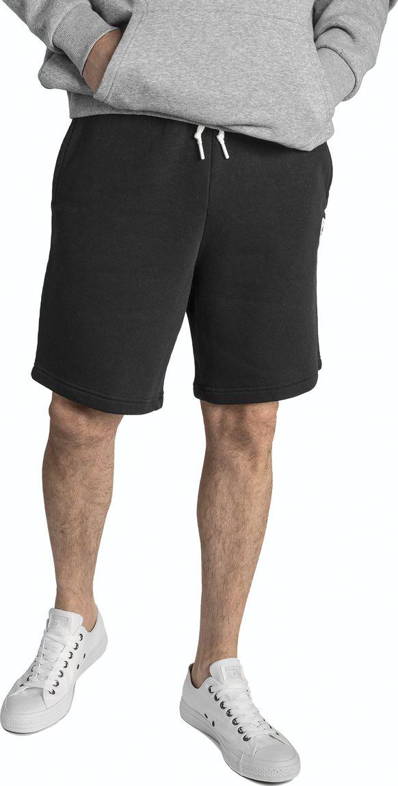 Купить Шорты спортивные мужские Converse Core Short, цвет: черный. 10004633001. Размер XXL (54)