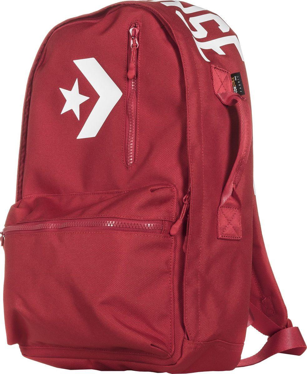 Рюкзак Converse Street 22 Backpack, цвет: красный. 10005969603 hot selling women s backpack genuine leather backpack women casual street sweet gentlewomen backpacks school student bags