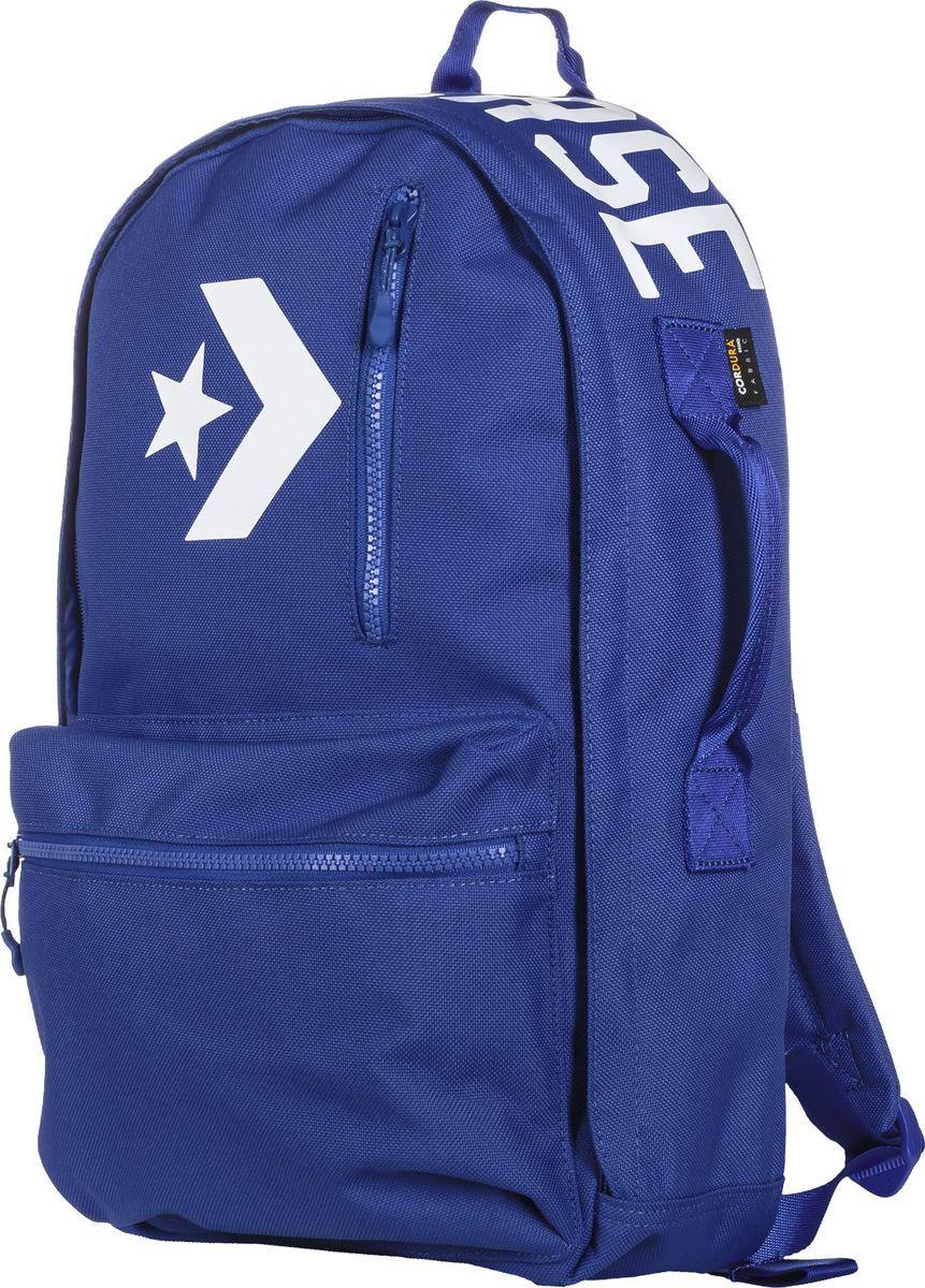 Рюкзак Converse Street 22 Backpack, цвет: синий. 10005969426 hot selling women s backpack genuine leather backpack women casual street sweet gentlewomen backpacks school student bags