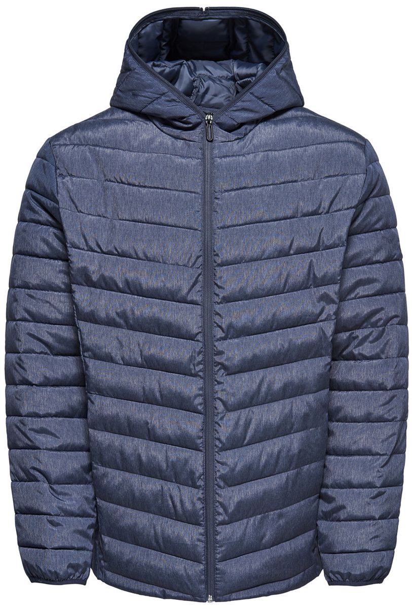 Куртка мужская Only & Sons, цвет: синий. 22008625_Dark Sapphire. Размер L (50) surfanic куртка мужская утепленная swy1000 scout 8k l 1032 mighty blue