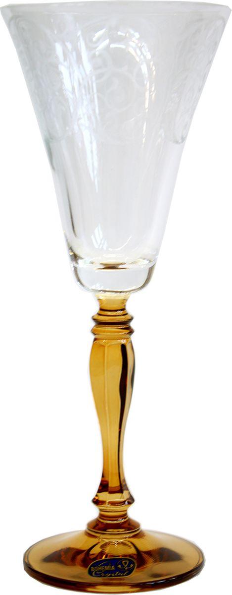 Набор бокалов для вина Bohemia Crystal Виктория, 190 мл, 6 шт40727/Q7932/190Набор бокалов для вина Bohemia Crystal Виктория изготовлен из чешского высококачественного стекла, которое по своим качествам ничем не уступает хрусталю. Набор бокалов послужит прекрасным подарком для молодоженов.