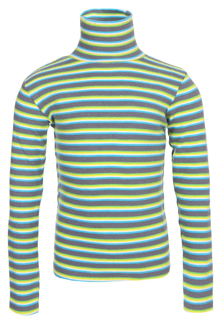 Водолазка для мальчика Gul-Ren-Teks, цвет: зеленый. УзТ-ВД-033. Размер 128