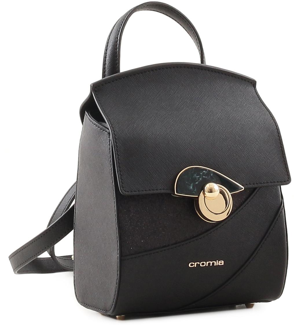 Рюкзак женский Cromia, цвет: черный. 679 cromia 2335 blu