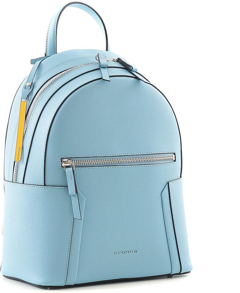 Рюкзак женский Cromia, цвет: голубой. 734 сумка cromia cromia cr002bwxas76