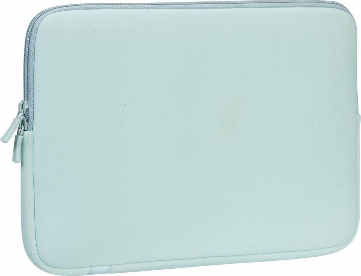 """RivaCase 5123, Mint чехол для ноутбука 13,34260403572290• Серия универсальных чехлов для ноутбуков, планшетов 11.6 - 15.4. • Выполнена из специального материала LRPU с эффектом памяти - Memory form. • Надежно защитит ваш ноутбук от случайных ударов и царапин, а также от пыли и влаги. • Легкий и плотный материал. • Двойная застежка молния для удобного доступа к ноутбуку. Совместимость: Планшеты и ноутбуки до 12.9-13.3"""", включая Apple iPad Pro 12.9 / MacBook Air / Pro 13."""