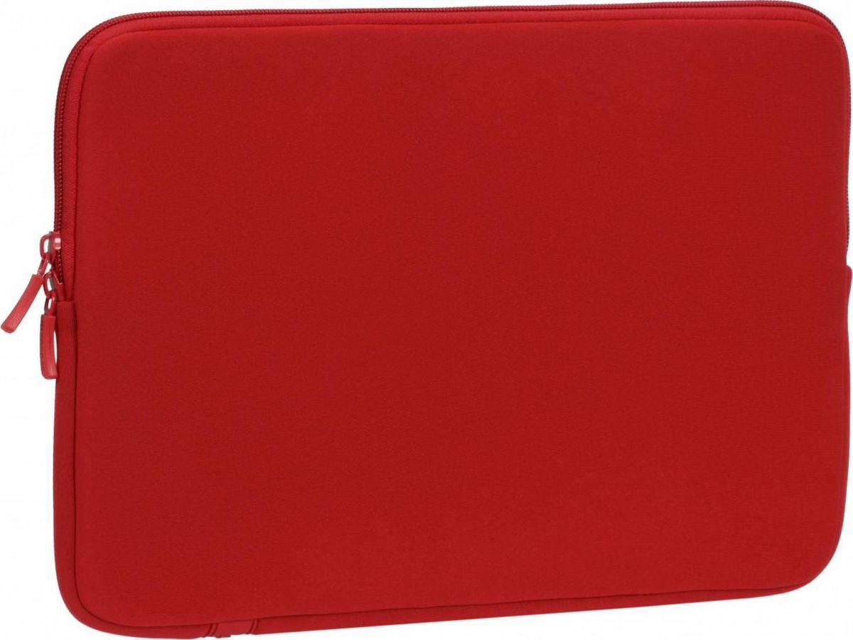 """RivaCase 5123, Red чехол для ноутбука 13,34260403572306• Серия универсальных чехлов для ноутбуков, планшетов 11.6 - 15.4. • Выполнена из специального материала LRPU с эффектом памяти - Memory form. • Надежно защитит ваш ноутбук от случайных ударов и царапин, а также от пыли и влаги. • Легкий и плотный материал. • Двойная застежка молния для удобного доступа к ноутбуку. Совместимость: Планшеты и ноутбуки до 12.9-13.3"""", включая Apple iPad Pro 12.9 / MacBook Air / Pro 13."""