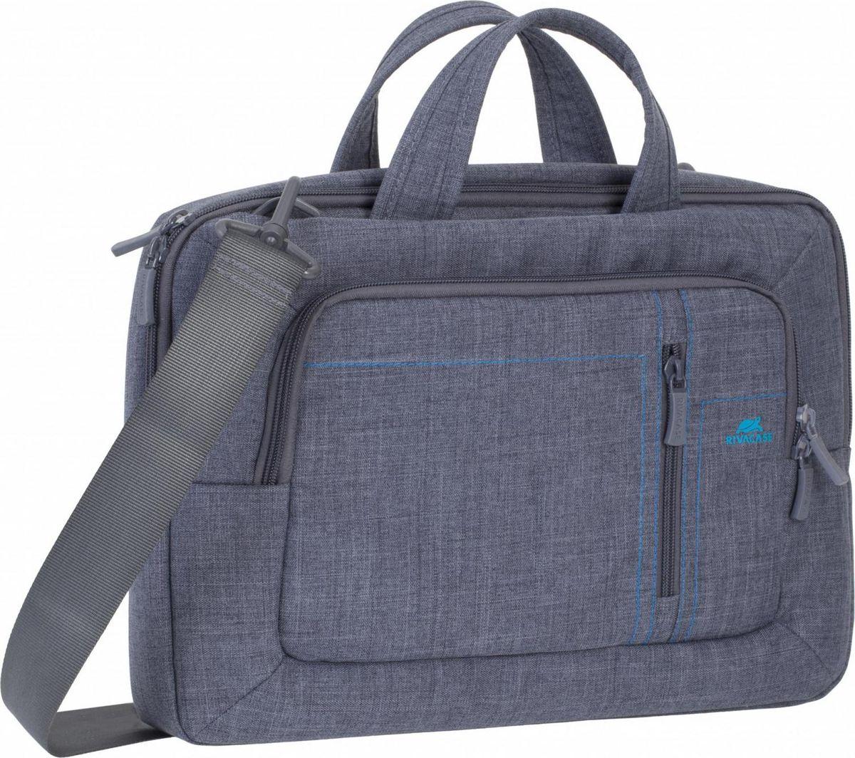 RivaCase 7520, Grey сумка для ноутбука 13,3