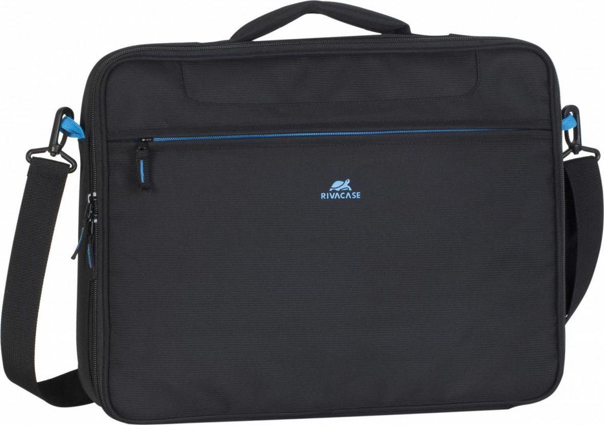 RivaCase 8087, Black портфель для ноутбука 16
