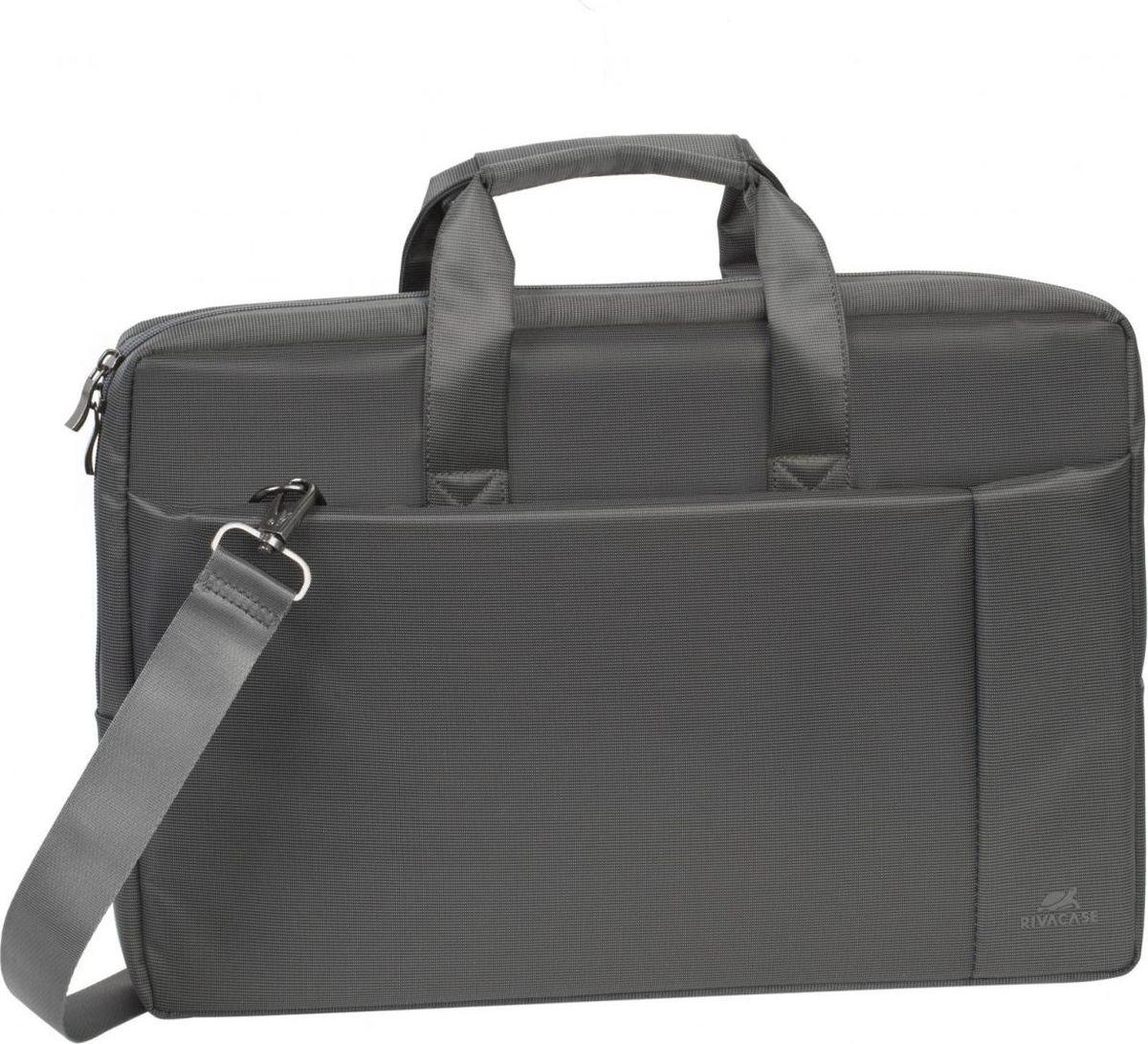 RivaCase 8251, Grey сумка для ноутбука 17