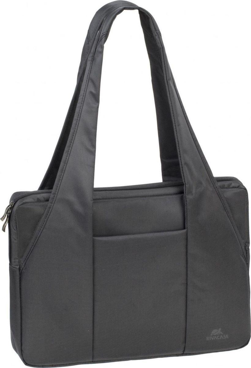 RivaCase 8291, Black сумка для ноутбука 15,6