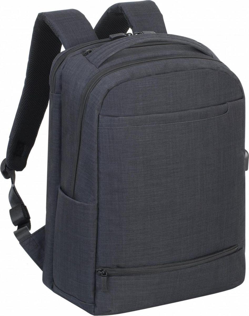 RivaCase 8365, Black рюкзак для ноутбука 17.3