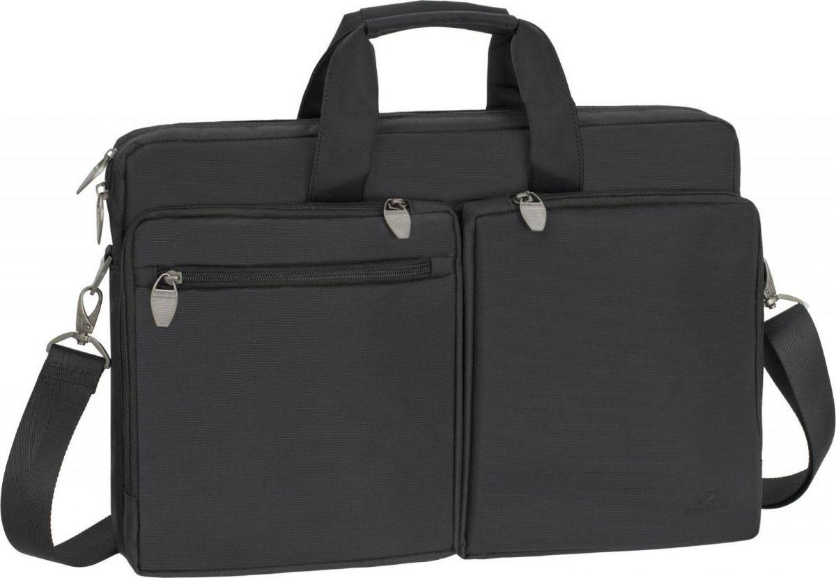 RivaCase 8550, Black сумка для ноутбука 17,3