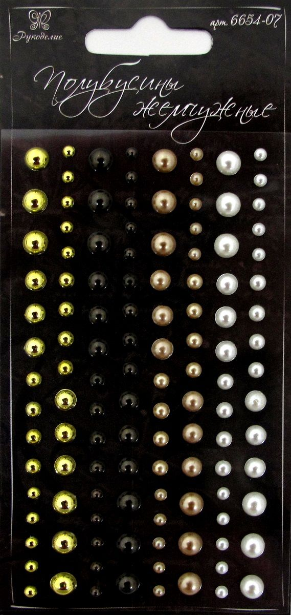 Камушки для рукоделия Рукоделие, 120 шт. 6654-07 где можно продать рукоделие в кемерово