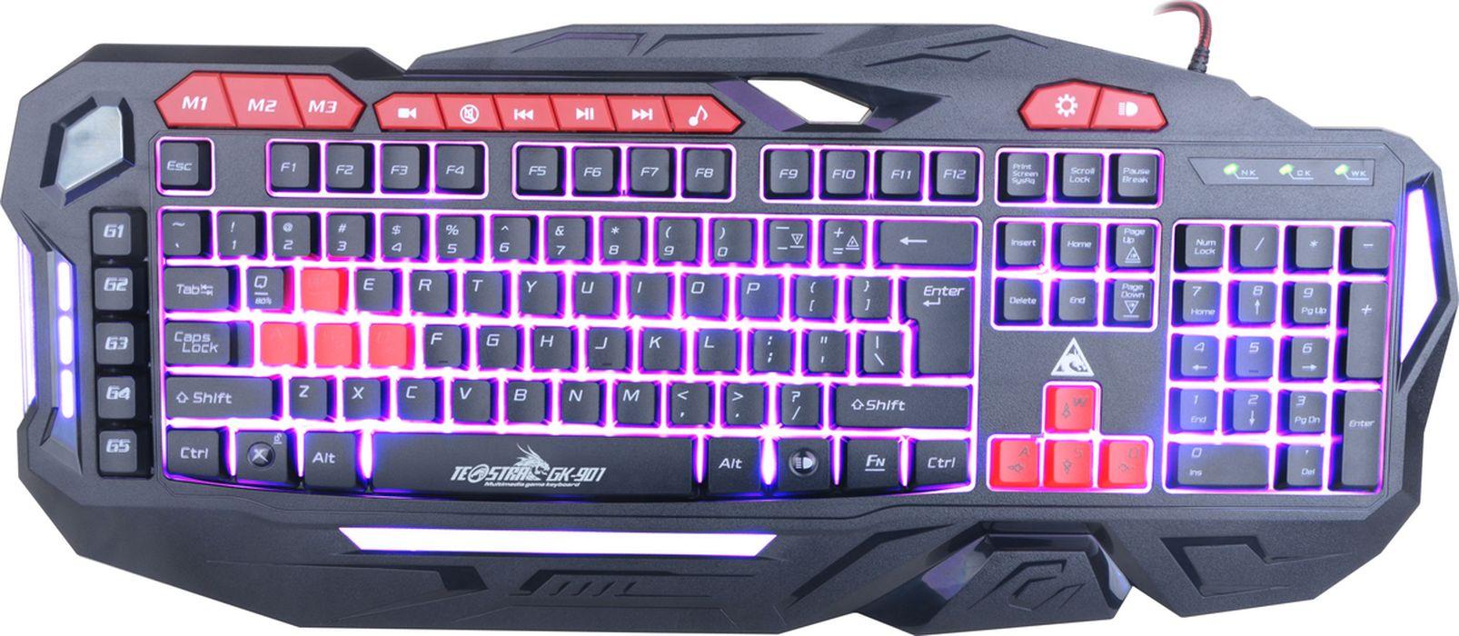 Xtrike Me GK-901, Black игровая клавиатура литой диск xtrike x 106 6 5x15 5x114 3 d67 1 et38 hs