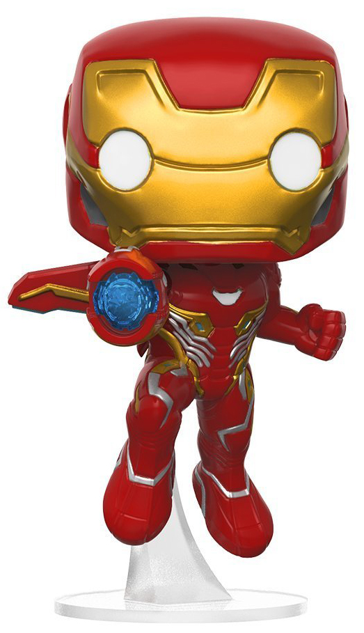 Funko POP! Bobble Фигурка Marvel Avengers Infinity War Iron Man 26463 фигурка funko pop bobble marvel black panther nakia