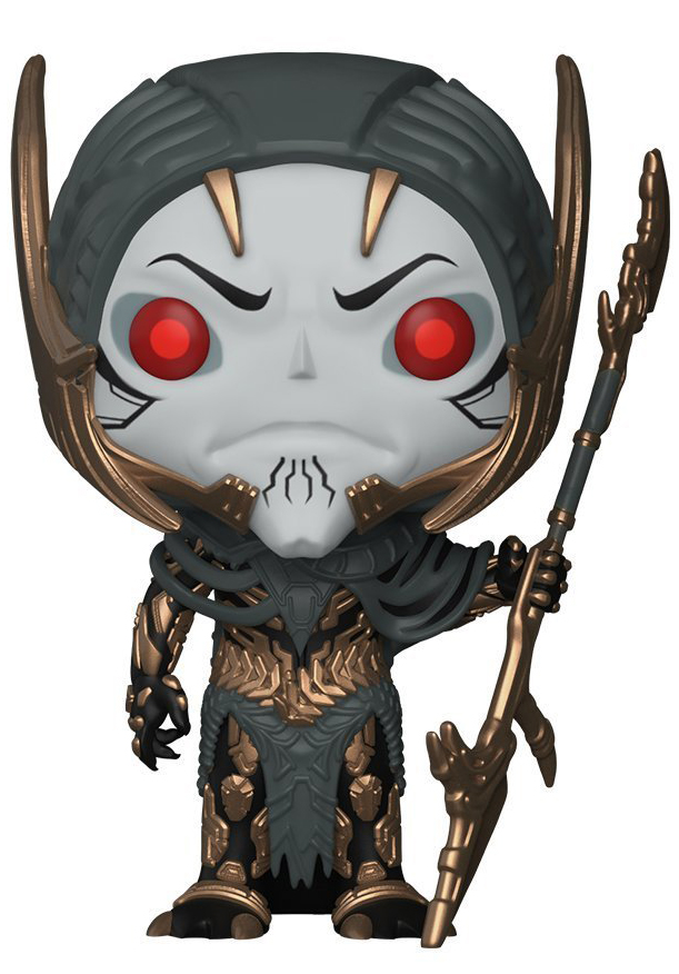 Funko POP! Bobble Фигурка Marvel Avengers Infinity War Corvus Glaive 26900 фигурка marvel black panther funko pop black panther warrior falls bobble head 9 5 см