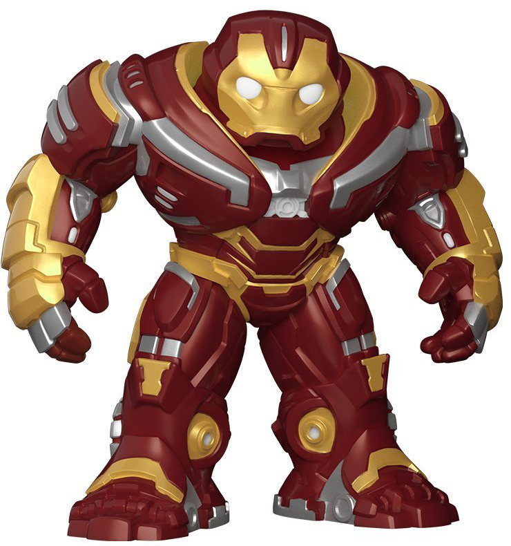 Funko POP! Bobble Фигурка Marvel Avengers Infinity War 6 Hulkbuster 26898 фигурка funko pop bobble marvel black panther