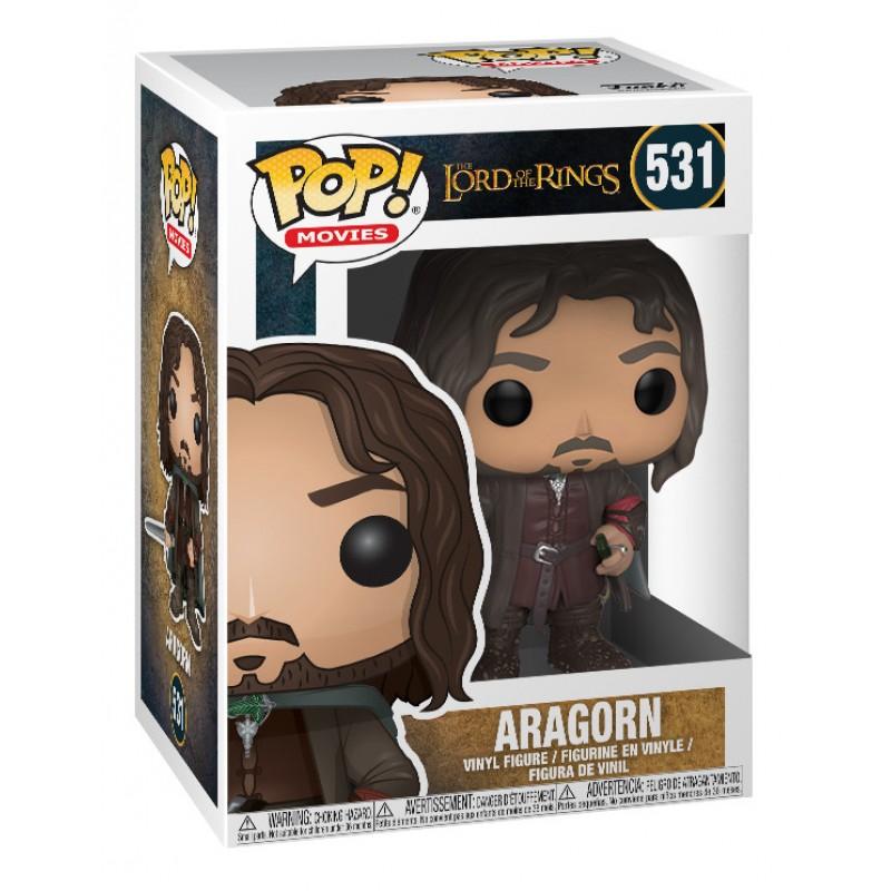 Funko POP! Vinyl Фигурка LOTR/Hobbit S3 Aragorn 13565 funko pop vinyl фигурка lotr hobbit s3 gollum 13559