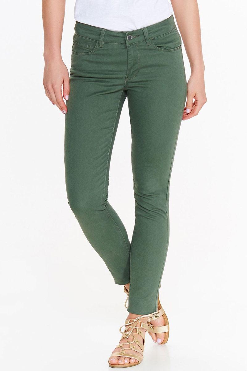 Джинсы женские Top Secret, цвет: зеленый. SSP2786ZI. Размер 42 (50)SSP2786ZIСтильные женские джинсы Top Secret - брюки высочайшего качества на каждыйдень, которые прекрасно сидят. Модель изготовлена из высококачественного материала.Эти модные и в тоже время комфортные джинсы послужат отличным дополнением к вашему гардеробу. В них вы всегда будете чувствовать себя уютно и комфортно.