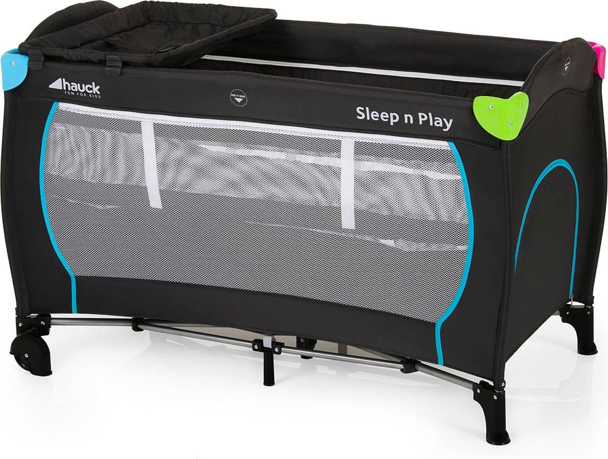 Hauck Манеж Sleep`N Play Center Multicolor black