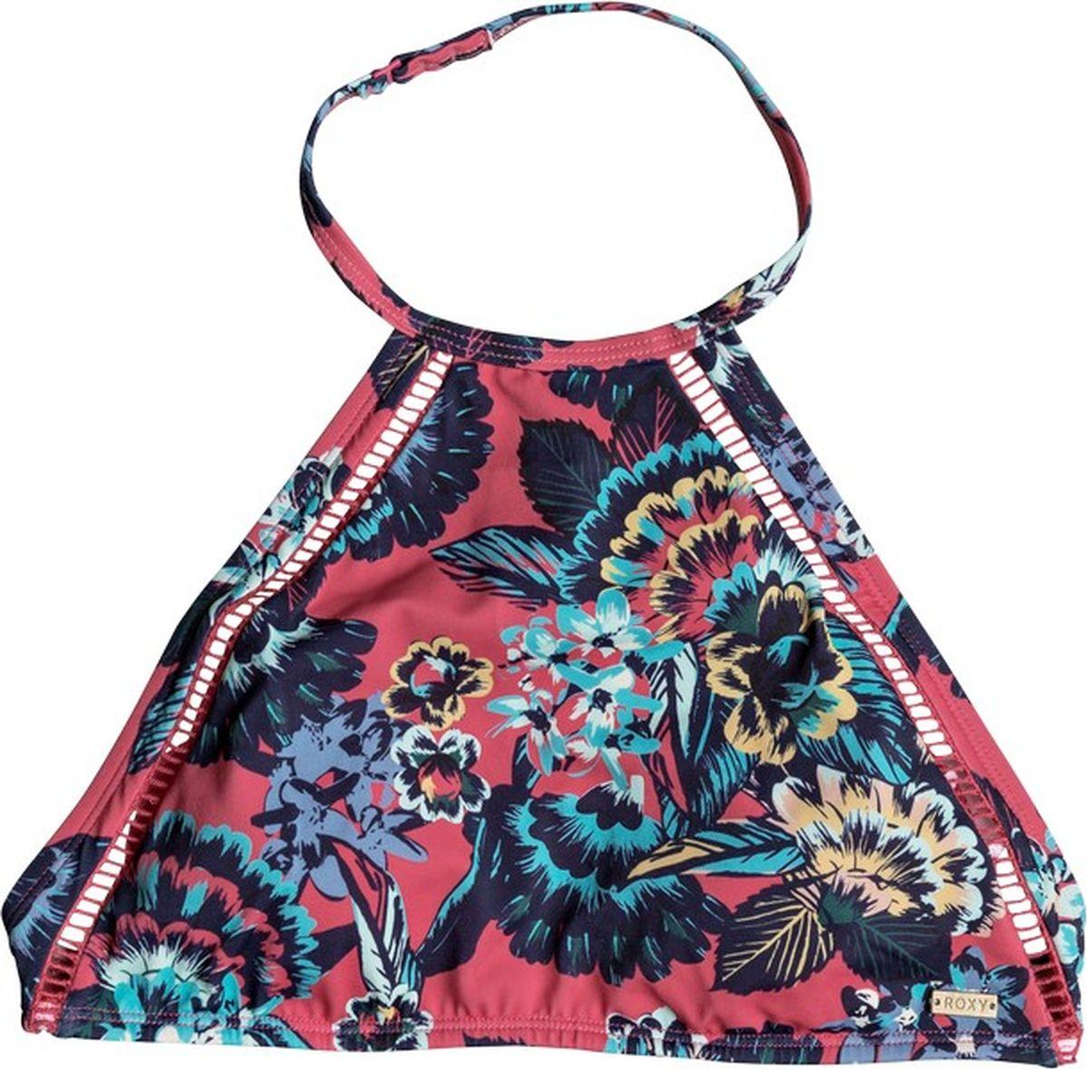 Лиф женский Roxy, цвет: красный, синий. ERJX303605-MLJ5. Размер L (46) лиф купальный женский roxy цвет черный erjx303615 kvj0 размер xs 40