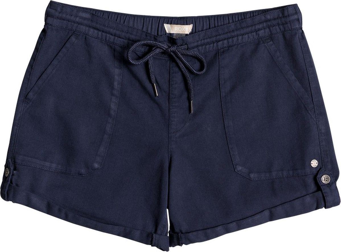Шорты женские Roxy, цвет: синий. ERJNS03135-BTK0. Размер XS (40) шорты пляжные женские roxy love цвет синий белый коралловый erjbs03065 pqf6 размер 42 s