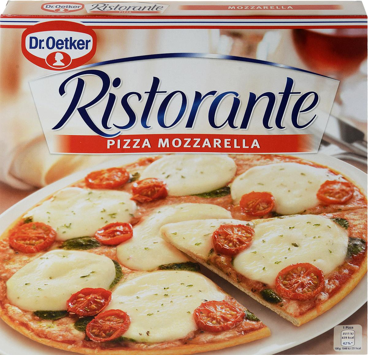 Dr.Oetker Пицца Ristorante Моццарелла, 335 г