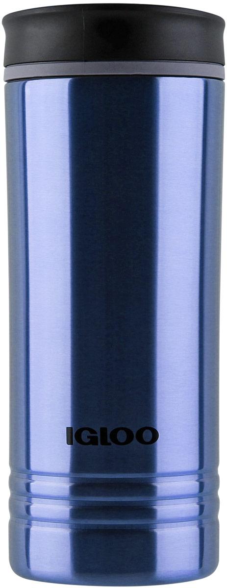 Кружка-термос Igloo Isabel, с вакуумной изоляцией, цвет: темно синий, 473 мл170380Кружка-термос из нержавеющей стали 473 мл Igloo Isabel Dark Denim Средняя герметичная кружка-термос из нержавеющей стали 18/8 с вакуумной изоляциейи стойкой к ударам крышкой, изготовленной из пластика BPA-free. Термокружка Isabel 16 Dark Denim прекрасно подойдет для ежедневного использования.Легкая, компактная, небьющаяся кружа-термос с двумя стенками из нержавеющейстали 18/8 и вакуумной изоляцией.Стильная резьбовая крышка из пластика BPA-Free с технологией скольжения клапанаоткрытия (слайдера) с фирменным логотипом Igloo обеспечивает 100% герметичность.Для настольного использования, для отдыха на природе, для путешествий наавтомобиле (размещается в большинстве автомобильных держателей стаканов).Пожизненная гарантия изолирующего действия.Не использовать в посудомоечной машине (только для мытья руками).Не размещать в СВЧ печи.