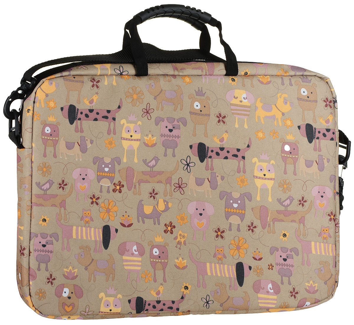 Vivacase Doggy, Brown сумка для ноутбука 15,6