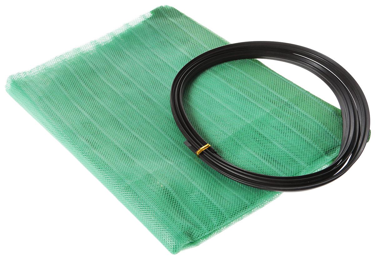 Сетка антимоскитная на дверь, с магнитами, 100 х 210 см