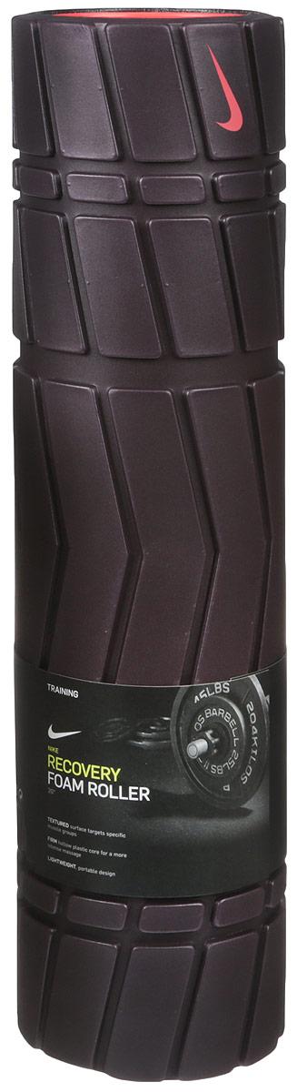 Массажный роллер Nike Recovery Foam Roller 20in, цвет: бордовый, красныйN.ER.33.647.20_ бордовый, красныйМассажный роллер Nike Recovery Foam Roller 20in, цвет: бордовый, красный
